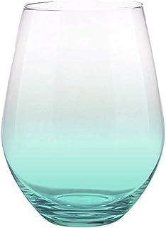 Creative Brands 倾斜系列 - Jumbo 无柄酒杯,30盎司,浅*