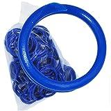 Coburn 家禽带(50 只装),11/16 英寸,蓝色