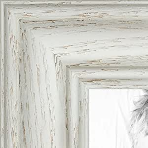 "ArtToFrames 画框深红色橡木染黑 3.18 cm 宽 白色 21 x 32"" 2WOM0151-59504-475-21x32"