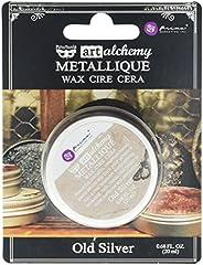 Prima Marketing Art Alchemy-Metallique 蜡-旧银色