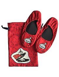 MOOMIN 旅行系列 折叠拖鞋(带抽绳)附带奶嘴 MMAP3001