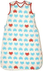 英国GrobagSimplyGro(升级版)睡袋2.5托格红蓝汽车(0-6个月)AAE4282
