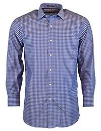 Tommy Hilfiger 男式免烫标准方格领衬衫