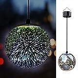 TAKEME 花园太阳能灯,户外挂饰灯,炫光球吊坠 LED 3D Firework 防水灯 3D 43237-2
