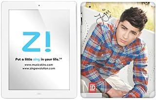Zing Revolution One Direction Premium Vinyl Adhesive Skin for iPad 2 & iPad 4/3, Zayn Image, MS-1D60351