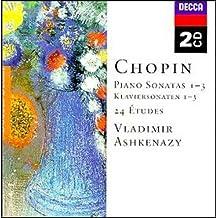 进口CD:肖邦:第1-3钢琴奏鸣曲\24首练习曲\阿什肯纳齐(2CD)(4662502)