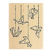 Florilèges Origami Birds Design fh117039 平板電腦,13 X 10 X 2.5厘米