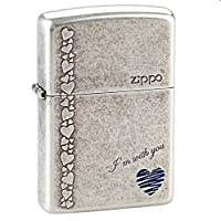 Zippo 芝宝 打火机 ZBT-1-8 蓝心