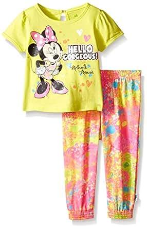 Disney 女童米妮老鼠 2 件套 多色(黄色) 18 Months
