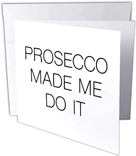 Tory Anne 系列引言 - PROSECCO MADE ME DO IT - 贺卡 Individual Greeting Card