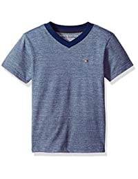 Tommy Hilfiger Boys' Famous Stripe Tee