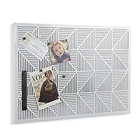 Umbra Trigon Bulletin Board, White