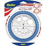 Helix 360° 角度和圆圈机 多色 (36002) 每个 多种颜色
