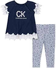 Calvin Klein 女寶寶打底褲 2 件套
