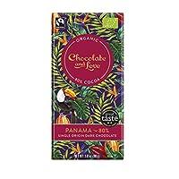 Chocolate & Love 巴拿马特浓黑80% 巧克力 80克(14包)