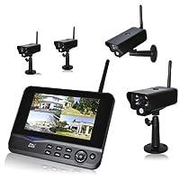 DNT QuattSecure 专业套装 – *系统,带4个无线电监控摄像机