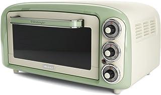 Ariete 979 3pizza (S) 1380 W 白色,绿色披萨和烤箱制造商 - 上衣(披萨烤箱,微波炉烧烤,18 L,1380 W,旋转,白色,绿色)