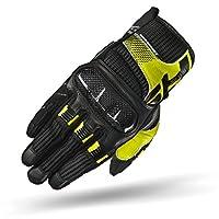 SHIMA X-BREEZE Poron XRD 经典夏季触摸屏运动摩托车手套 S 黄色 X-BREEZE FLUO S