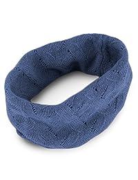 女式 * 羊绒 Infinity 围巾 - 牛仔蓝 - 由 Love Cashmere RRP 150 在苏格兰制造