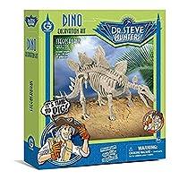 恐龙挖掘工具芝士龙 Geoworld Dino Excavation Kit Stegosaurus Skeleton CL1667K