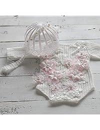 micia luxury(美西亚拉格)纽骨 婴儿 连体衣 头裙 2件套 服装 礼服 发带 头带 女孩 摄影 新生儿 小物 照片 专业
