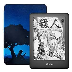全新Kindle青春版 黑色 + NuPro轻薄保护套套装,主题定制款