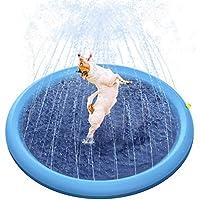 Mothermed Splash 洒水器垫,适用于狗狗儿童,狗洗澡池加厚耐用沐浴浴缸宠物夏季户外水上玩具