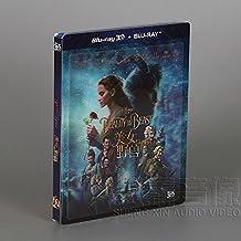 美女与野兽(蓝光碟3D+BD精装版)
