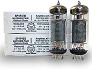 Riverstone Audio - 6P1P-EB 測試和匹配一對(2 管) - 復古俄羅斯真空管 - Amplitrex 測試 - 替換 6P1 / 6P1P 管 - 鉑金級對 - (2 管)6P1P-EB