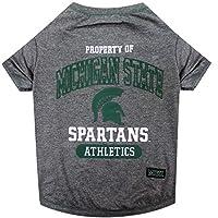 Michigan State Dog Tee Shirt 密歇根州立大学斯巴达人 大