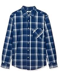 EDWIN 襯衫 ( 官方 ) 靛藍色 常規襯衫 長袖 男士 ET2114