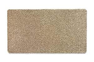 "Muddle Mat Linen Cotton Indoor Rug 棕色 59 x 20"""