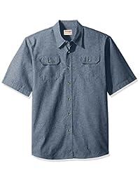 Wrangler Authentics Men's Short-Sleeve Classic Woven Shirt