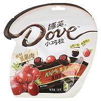 德芙 蔓越莓黑巧克力100g