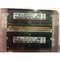 SAMSUNG 8GB 套件 DDR3 1333 MHz PC3 10600 (2X4GB) SODIMM 笔记本电脑内存