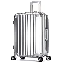 JamayZeyliner佳美吉利亚 加厚耐磨铝框拉杆箱登机箱拖运箱大号静音万向轮行李箱旅行箱登机箱出国箱包