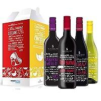 ROSEMOUNT 若诗庄园 澳大利亚原瓶进口 佳肴系列干红葡萄酒 750ml*4 礼盒装(澳洲进口葡萄酒)
