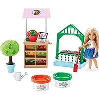 Barbie Chelsea 玩偶和蔬菜花园玩具套装