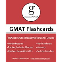 Manhattan GMAT Flashcards (Manhattan Prep GMAT Strategy Guides) (English Edition)