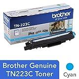 Brother Genuine TN223C 标准产量青色碳粉盒,TN223