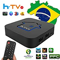 PTV 巴西 2020 *新 HTV 基于 A2 巴西比 IPTV8 5 6 Plus *新*的巴西盒子,带有 250 个真实巴西频道和大型电影戏剧电影