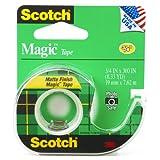 Scotch Magic Tape, 3/4 x 300 Inches (105)