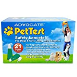 PetTest 倡导监测*水平 - *测试工具 - 为宠物校准 - 免费 eOutletDeals 超值套装。 Safety Lancets