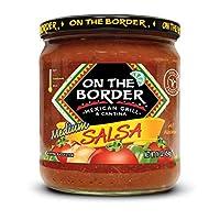On The Border Original Medium Salsa, 16-Ounce Jar (Pack of 8)
