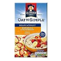 Quaker 桂格 草莓香蕉味水果燕麦片 284g(英国进口)
