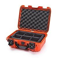 Nanuk 915 Case with Padded Divider (Orange)
