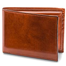 Bosca 男式 old 皮革信用卡钱包 W/ID passcase