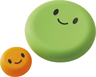 COGIT 保持蔬菜鲜亮度 贝斯夏奇 2个装 グリーン&オレンジ 大小2個 野菜保存カバー