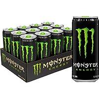 Monster 能量饮料,*原装 10.5 Fl Oz (Pack of 12)