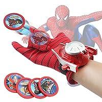 超凡蜘蛛侠手套 儿童玩具 手腕发射器 蝙蝠侠手套 动漫玩具 钢铁侠 (蜘蛛侠发射手套)